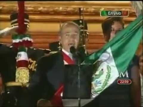 """El último """"grito"""" de Felipe Calderón"""