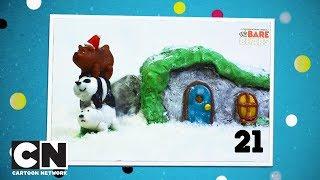 Новогодний отсчет   Подарок #21   Сделай пряничный домик «Вся правда о медведях»   Cartoon Network