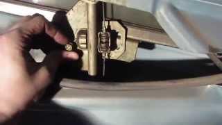 Замена бокового стекла передней двери ВАЗ 2110-2112, Приора