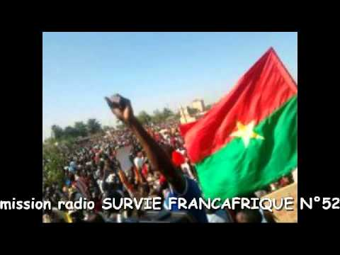 Burkina Faso   Emission radio de Survie 31   Françafrique n° 52