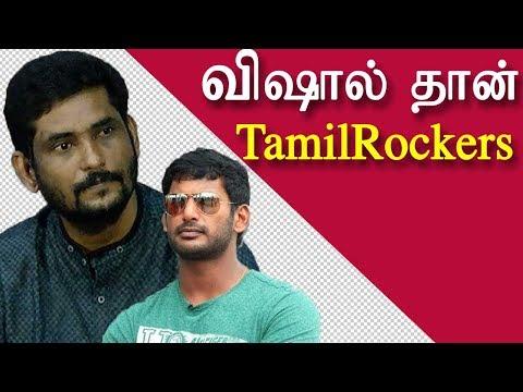 vishal is running tamilrockers - suresh kamachi | tamil news today | tamil news | redpix