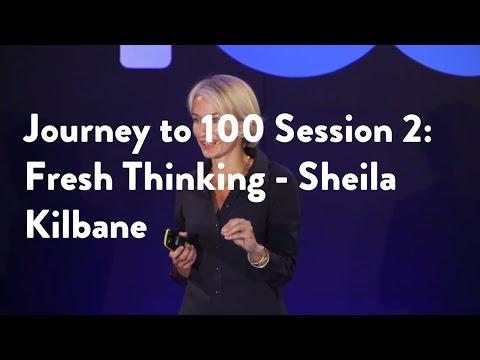 Journey to 100 Session 2: Fresh Thinking - Dr. Sheila Kilbane [Functional Forum]