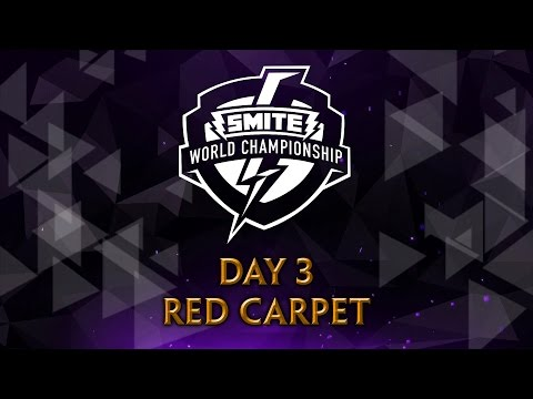 SMITE World Championship 2017 - Red Carpet (Day 3)