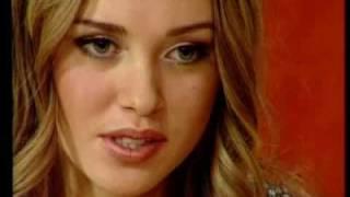 Ksenia Sukhinova interview after Miss Russia 2007