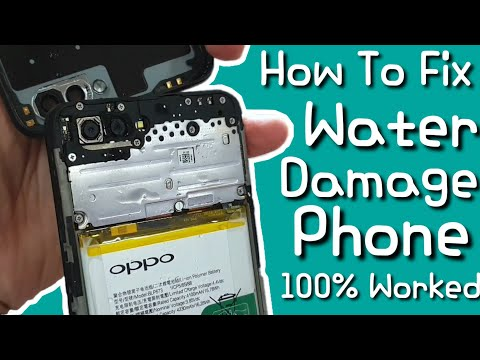 How To Repair Water Damage Phone In Just 30 Minutes! EASY!