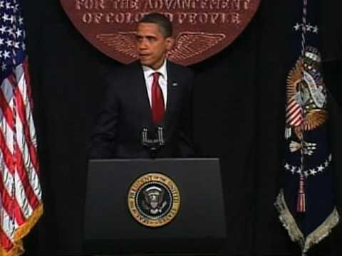 Obama to NAACP: More Work Ahead