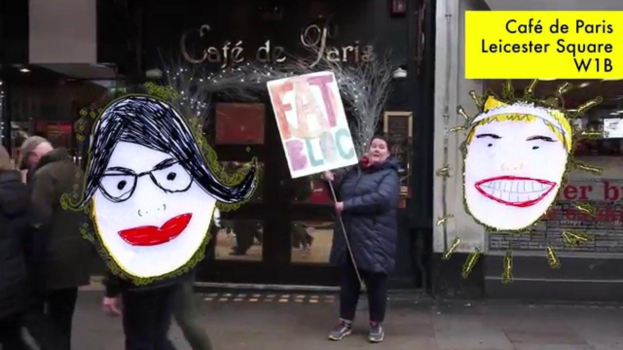 A Walk Around Fat Activist London