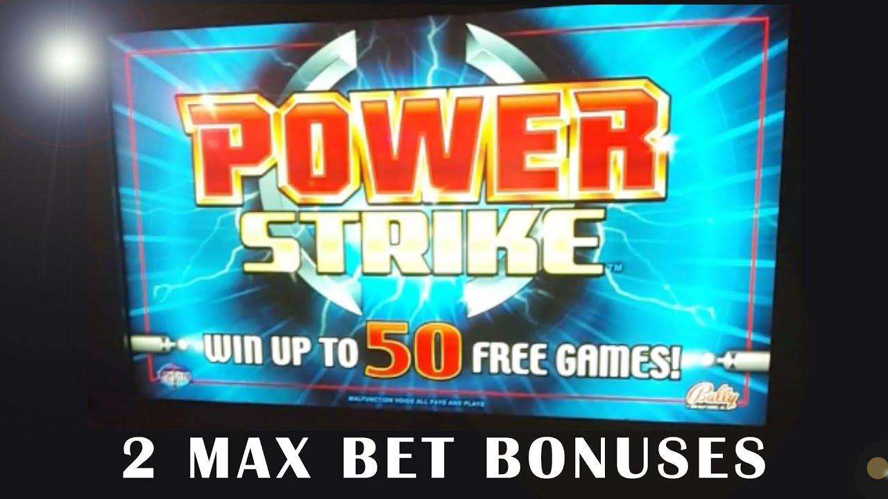Play power strike slot machine gambling high blood pressure