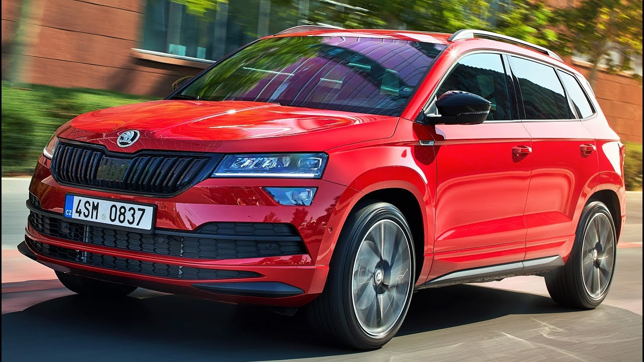 2019 skoda karoq sportline sporty compact suv youtube. Black Bedroom Furniture Sets. Home Design Ideas