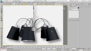 Editable Spline ve Lathe ile Avize Modellemek - 3Ds Max