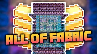 All of Fabric 3 Minecraft Modpack Ep. 21 Best 1.16 Gold Farm