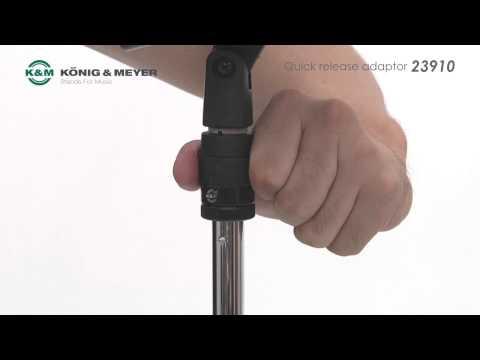 K&M クイックリリースアダプター 23910