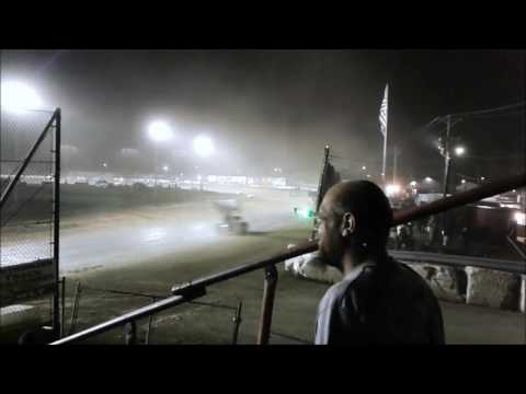 Fremont Speedway 410s A Main 7/1/17