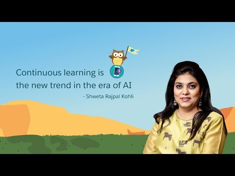 Continuous learning is the new trend in the era of AI | Shweta Rajpal Kohli