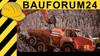 Heavy Equipment in 4K Action - Monster Machines in Ultra HD - Bauforum24 TV