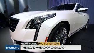 New York Auto Show: Cadillac Unveils New CT6 Sedan