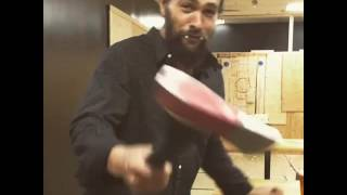Khal Drogo drinks beer and throw axes.