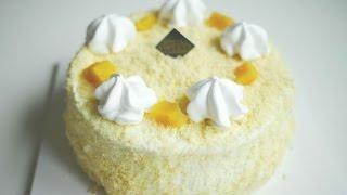 고구마 케이크 만들기 | 한세 SWEET POTATO …