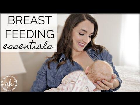 BREASTFEEDING MUST-HAVES + ESSENTIALS   Tips For Breastfeeding   Natalie Bennett