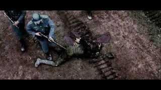 фрагмент фильма Свои - вторжение немцев в деревню.avi