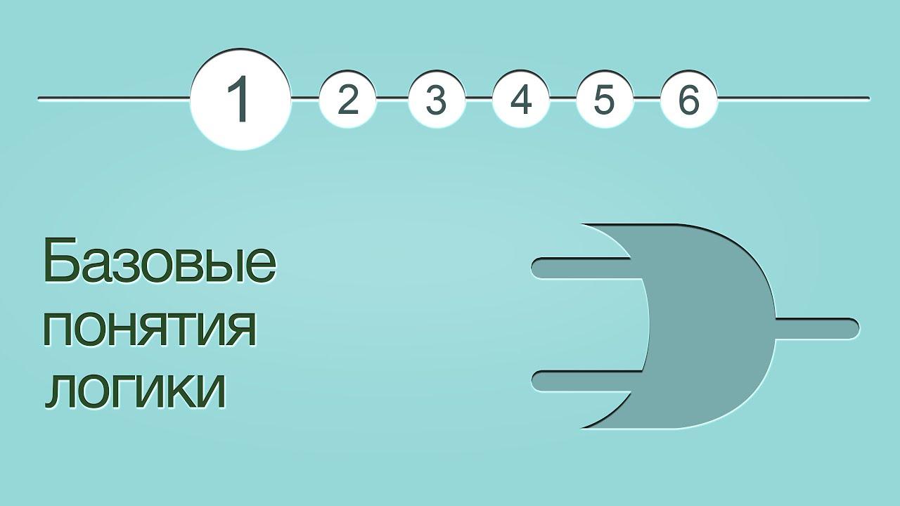 Введение в логику, урок 1: Базовые понятия
