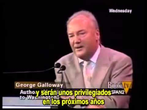 George Galloway calls Christopher Hitchens a popinjay