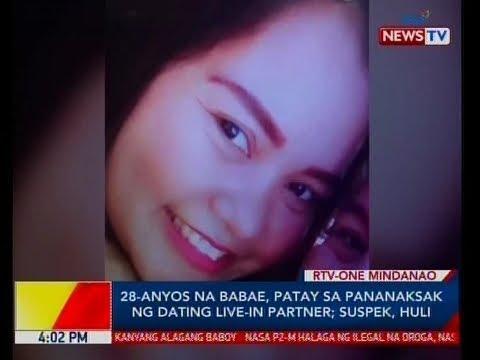 BP: 28-anyos Na Babae, Patay Sa Pananaksak Ng Dating Live-in Partner; Suspek, Huli