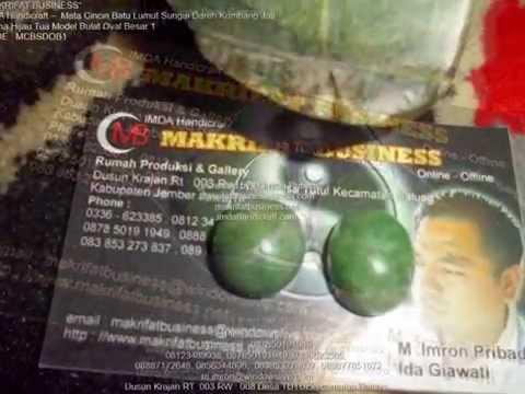 Mata Cincin Batu Giok Lumuik Sungai Dh (The Jade Giok West Sumatera)
