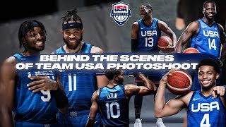 BEHIND-THE-SCENES AT TEAM USA PRACTICE + OLYMPICS PHOTOSHOOT WITH THE SQUAD! | JAVALE MCGEE VLOGS