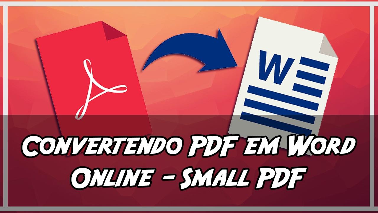 Convertendo pdf para word online small pdf convert youtube convertendo pdf para word online small pdf convert stopboris Images