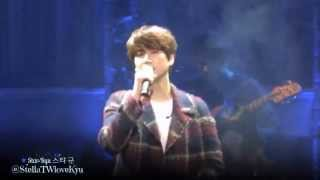 [Fancam] 151115 KYUHYUN The Agit concert - Till I Reach Your Star 너의 별에 닿을 때까지 (규현)