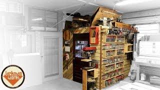French Cleat Storage Wall & Loft