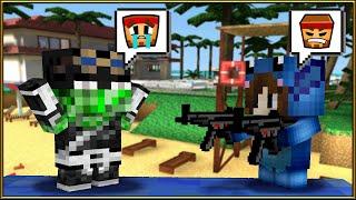TAG DE LOS NOVIOS EN PIXEL GUN 3D!