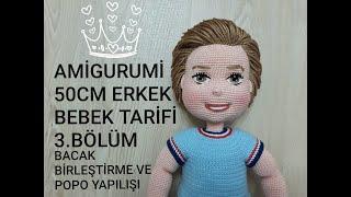 Amigurumi Büşra Bebek Yapımı - Gövde Yapılışı 2/7 (Gül Hanım ...   180x320