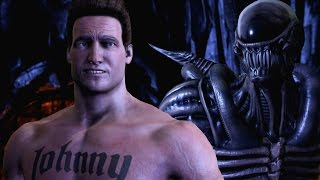 Johnny Cage's Hilarious New Intros in Mortal Kombat XL