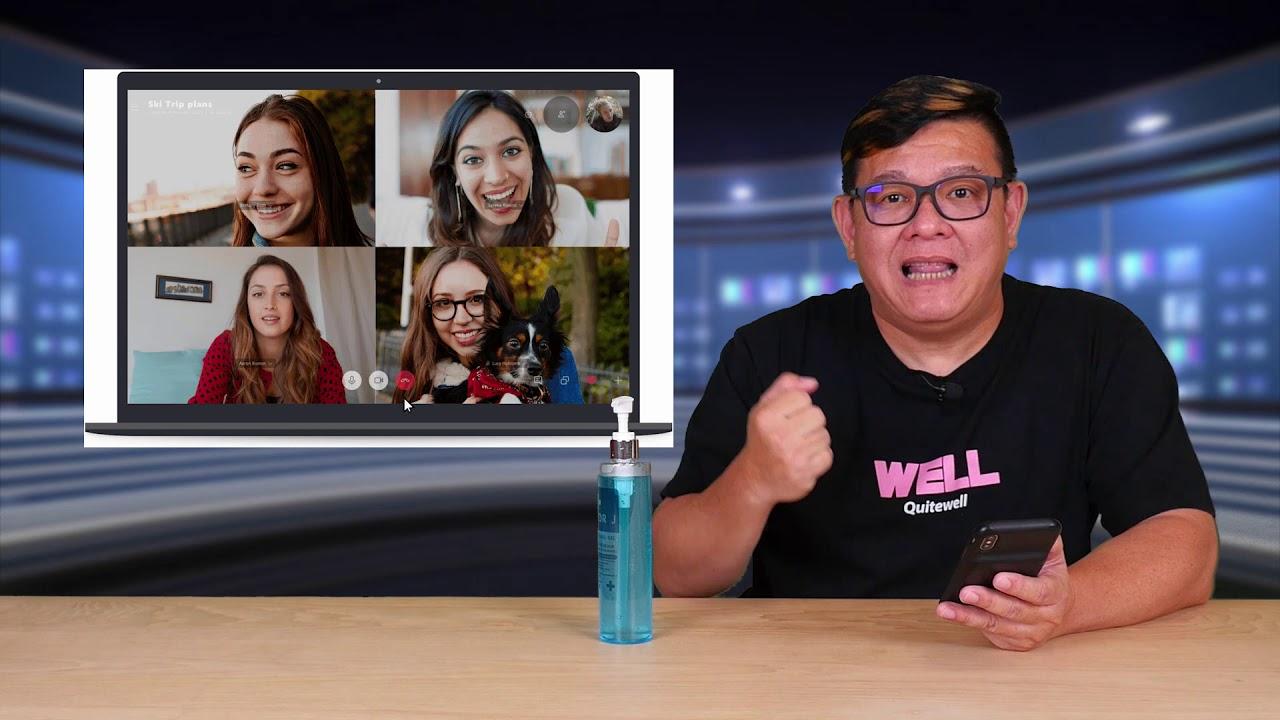 อายฝาบ้าน!! Vdo Call แล้วบ้านรก แก้ด้วย Virtual , Blur Background บน Zoom Skype และ MS Teams