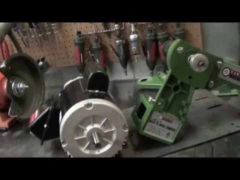 How to Modify the Harbor Freight 4x36 Belt Sander to Work