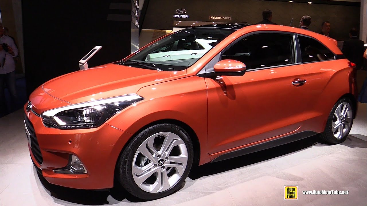 2016 hyundai i20 coupe exterior and interior walkaround 2015 frankfurt motor show youtube. Black Bedroom Furniture Sets. Home Design Ideas
