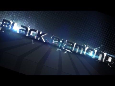 Black Diamond Text Effect   Photoshop CC Tutorial