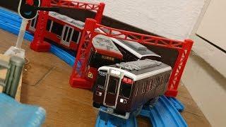 阪急8200系をプラレールで作ってみた。