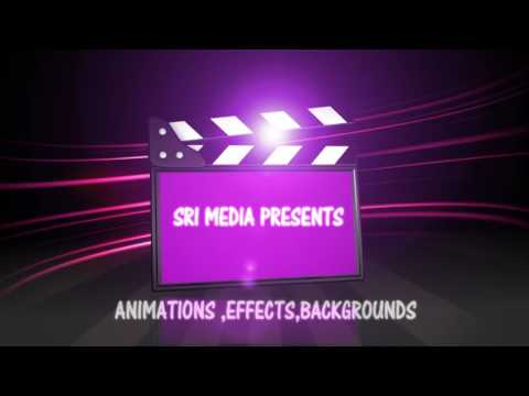 SD light Glow Motion Video Background // VFX  From Sudhakar TechNews