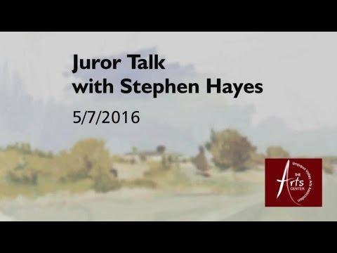 UVAA - Artist Talk with  Stephen Hayes