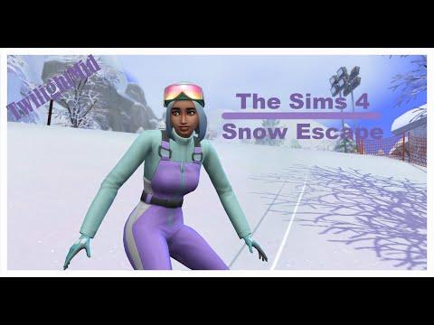 Mt. Komorebi! // The Sims 4 Snowy Escape #1 |