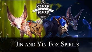 Jin and Yin Fox Spirits