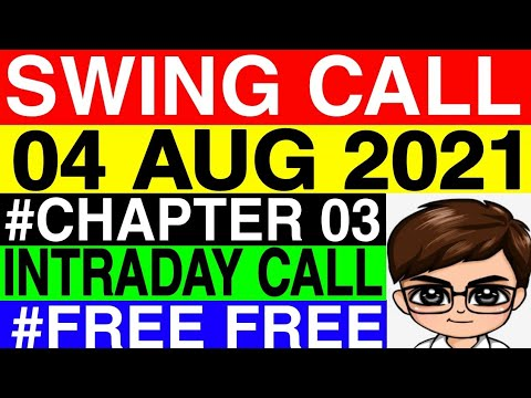 Daily Best Intraday Stocks || 4th August 2021 || Stocks To Trade Tomorrow || Swing Call For Tomorrow