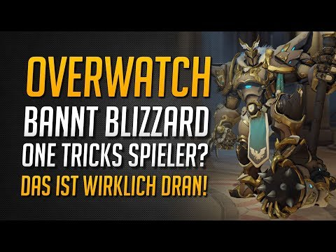 BANNT BLIZZARD WIRKLICH ONE-TRICKS? | ★ Overwatch Deutsch thumbnail