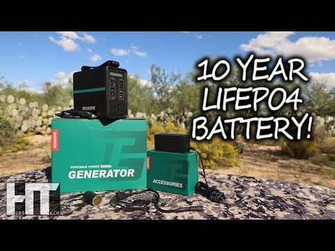 Micro LiFePO4 SOLAR GENERATOR With MPPT! Beaudens 166wh Portable Power Station Review