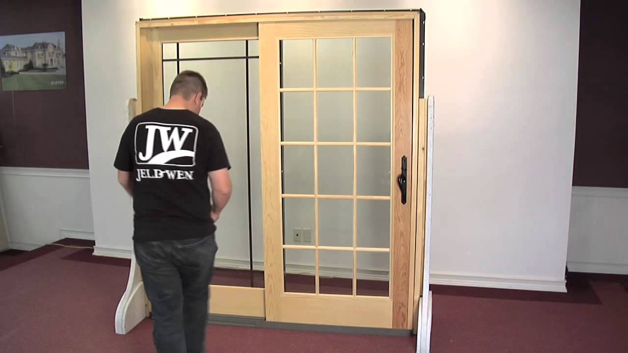 How To Adjust The Rollers On A Premium Wood Sliding Patio Door Youtube