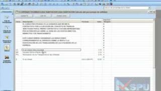 financiamiento y utilidad en sofware OPUS AEC 10,  CMS 11, 2010, planet, 2014 y 2015