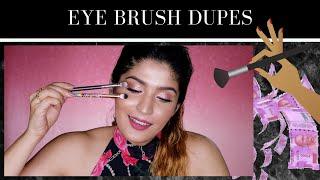 Eye Brush Dupes | MAC, Bobbi Brown & More ! | Shreya Jain